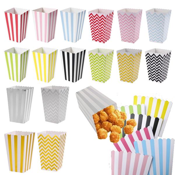 popcornholder, weddingpartysupplie, Snacks, popcornbox