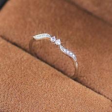 willowleaf, binarystar, Sterling Silver Jewelry, DIAMOND