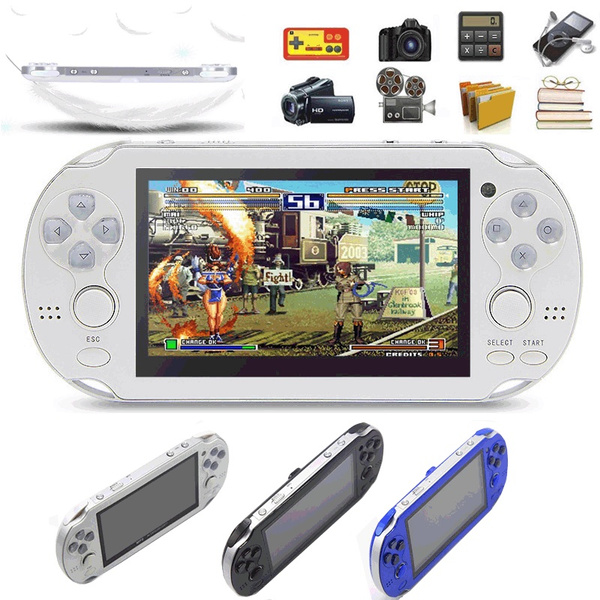 Duble Joystick 4 3-inch High-definition Large-screen Dual Rocker Handheld  Game Console 4g/8g Nostalgic Classic PSP Handheld Game Console
