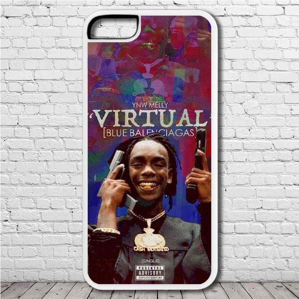 YNW Melly Virtual (Blue Balenciagas) Phone Case for Samsung Galaxy,Samsung  Galaxy Note,Apple iPhone and Huawei Case Samsung Galaxy