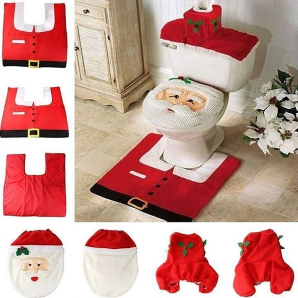 christmas toilet seat cover wish
