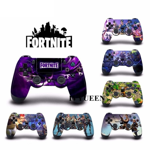 1 Pcs Game Fortnite Vinyl Stickers Decal Cover For Playstation Dualshock 4 Ps4 Pro Slim Controller Skin Battle Royale