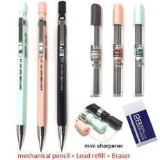 pencil, mechanicalpencilleadrefill, Student, pencilsharpener