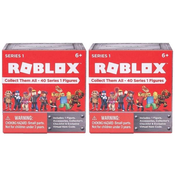Roblox Blind Mystery Box 2PK Series 1 Action Figures Case Collectible  Virtual Jazwares