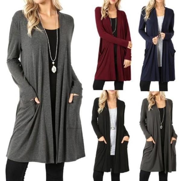 Fashion, Winter, sweater coat, Long Sleeve