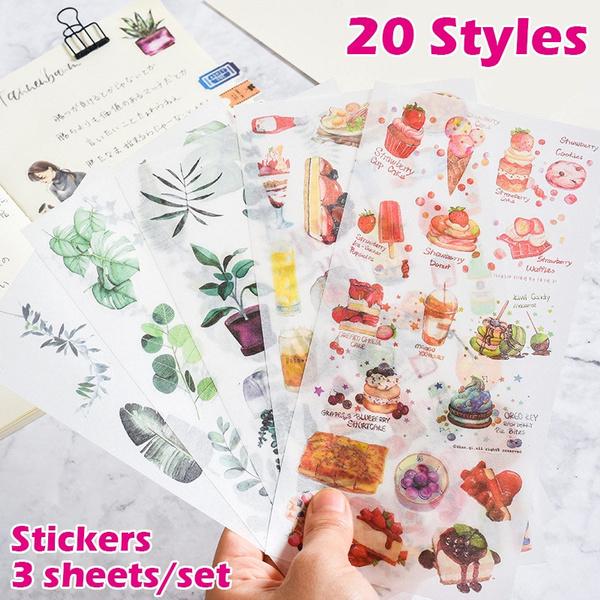 Stickers, dogsticker, Notebook, Paper