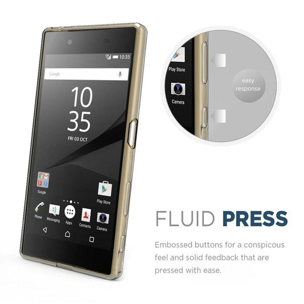 Wish   CAQ Ultra Slim Soft TPU Clear Phone Case For Sony Xperia Z5 Premium Cover