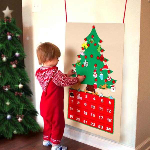 Home Decor, Tree, felt, Ornament