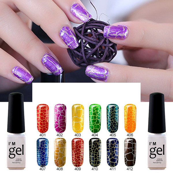 1pc Shiny Nail Polish Nail Art Nail Gel Polish Uv Led Gel Liquid