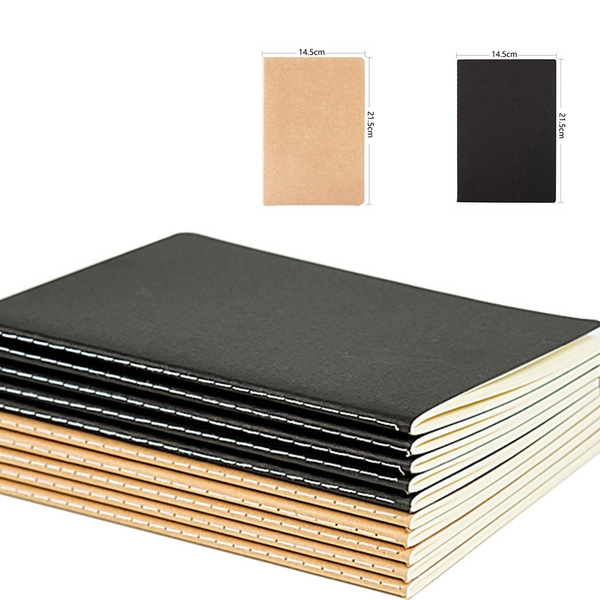 wish | 1 Notebook Diary Black Paper Notepad 16K 32K 56K Sketch Graffiti Notebook for Drawing Painting Office School Stationery Gifts (Random Pattern)