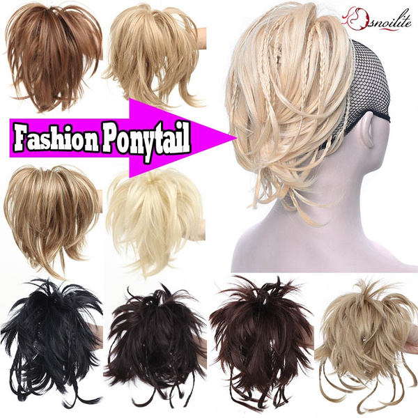 Ponytail Hair Extension With Clip Wish