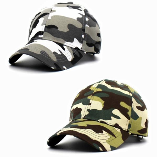 Fashion Unisex Camouflage Fahsion Baseball Cap Snapback Hat Hip-Hop Adjustable