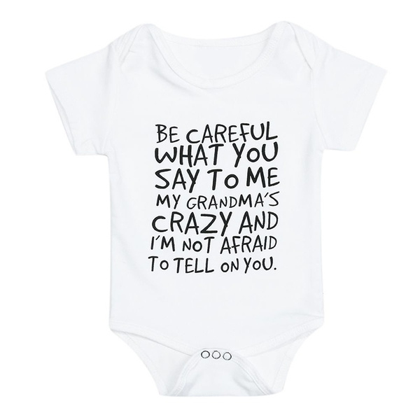 That What She Said Funny Cute Shower Gift Newborn Romper Bodysuit For Babies