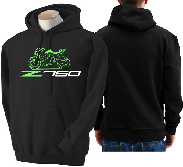 Felpa moto Kawasaki z750 hoodie sweatshirt bike hoody Hooded sweater z 750 r
