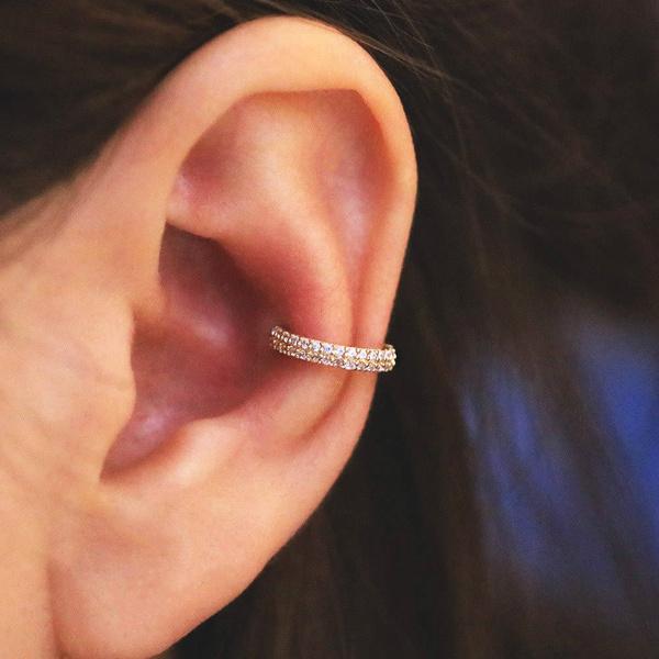 1pc 14k Gold Hoop Cartilage Helix Hoop Earring Cartilage Earring