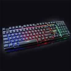 rainbow, led, usb, Gaming
