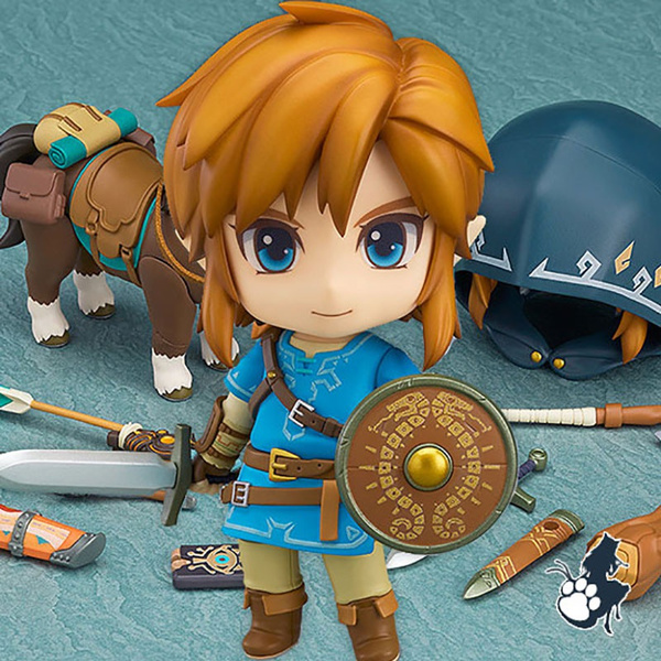 Nendoroid Breath of the Wild Deluxe Version Good Smile The Legend of Zelda Link