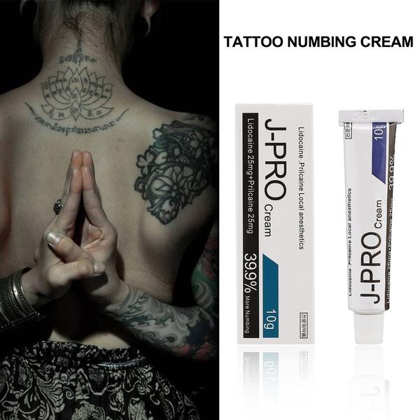 10g Tattoo Fast Numbing Cream Tattoo Body Anesthetic Fast Skin Numb ...