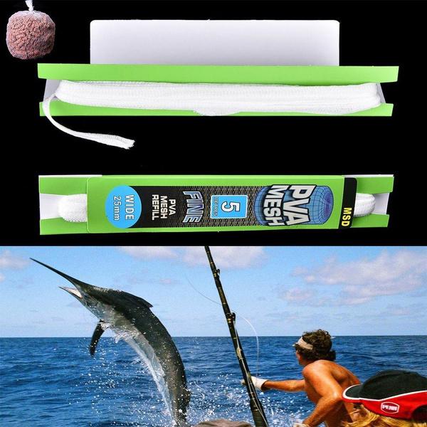 Accessories Water Soluble Sack Bait Bag Carp Coarse Fishing PVA Lure Mesh