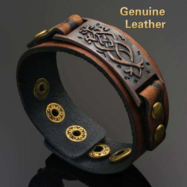 snapbracelet, handmadebraceletsformen, Jewelry, leather
