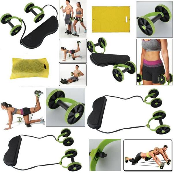 AB Roller AB Wheel Bauchtrainer Bauchmuskeltrainer Fitnessgerät Trainer