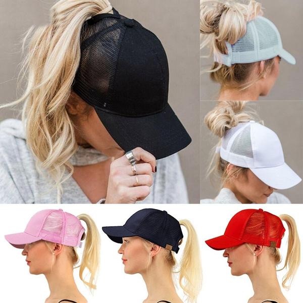 Fashion, ponytailhatsforwomen, Womens hat, Women Cap