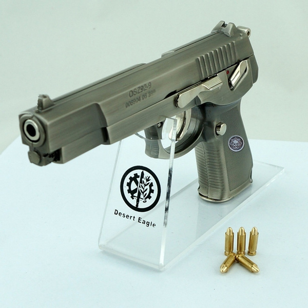 Metal Pistol Model 1:2 Manufacturing Simulation Gun Firearms Collection Not  Launchable CS Game Toys & Games DIY
