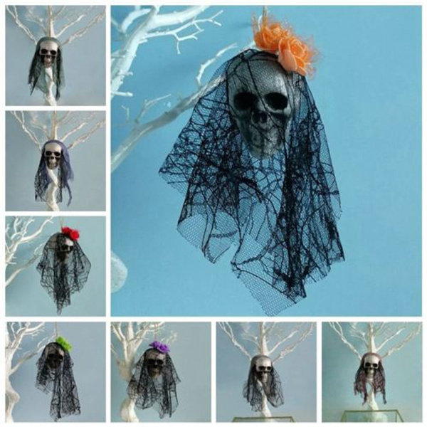 Halloween Spooky Corpse Skull Hanging Decor Haunted House Bar Pub Party Favor