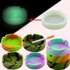 cigarettecup, smokeashholder, camouflageluminousashtray, Silicone
