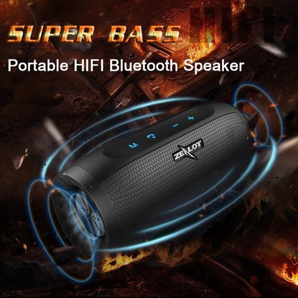 1720d44997b8ee ZEALOT S16 Portable Wireless Speaker Bluetooth Soundbar Column Super ...