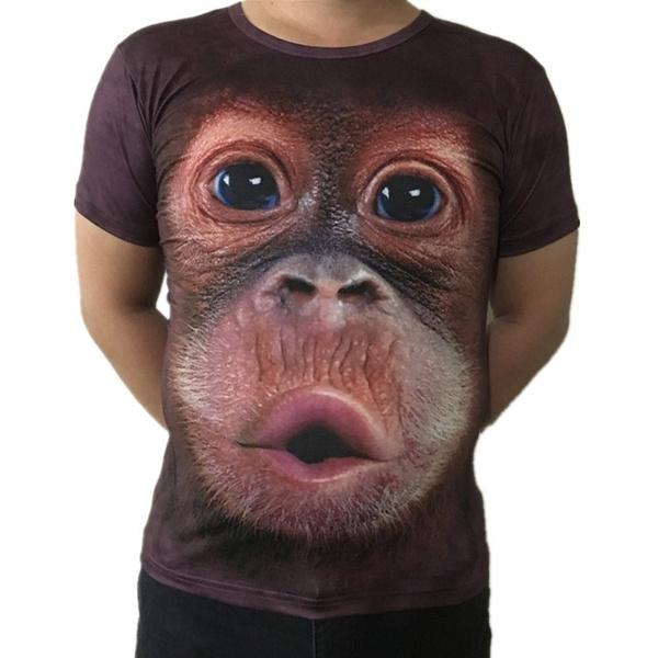 Summer, Vest, Fashion, monkey