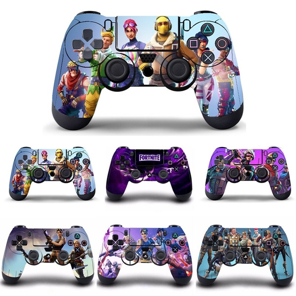 Popular Game Fortnite PS4 Controller Skin Sticker Cover For Sony PS4  PlayStation 4 for Dualshock 4 Game Controller PS4 Skins Stickers