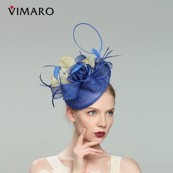 a39a6153 VIMARO Elegant Green Flower Black Party Fascinator Party Hair Accessories  For Women Hair Jewelry Hairbands Gift Headpiece Church   Wish