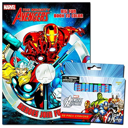 Marvel Avengers 32Pack Crayons