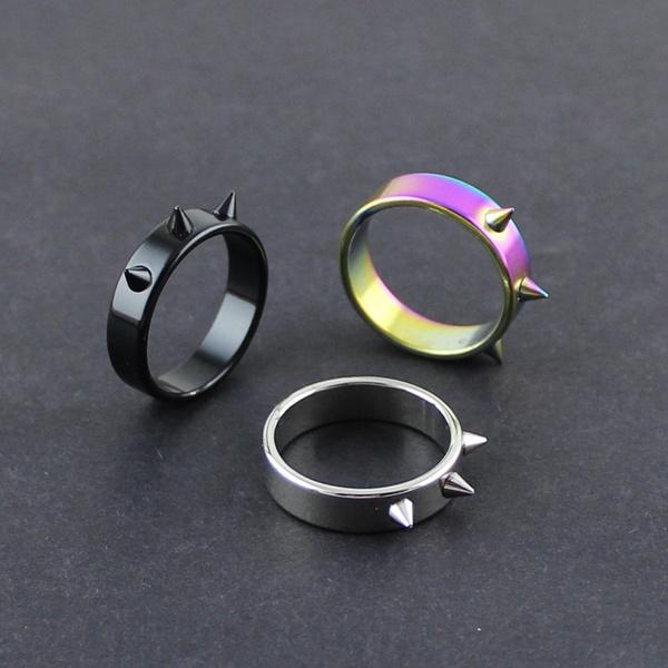 Ring Women Men Safety Survival Finger