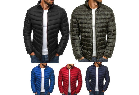 New men's fashion autumn and winter puffer cotton coat