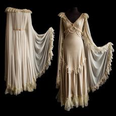 lace trim, GOTHIC DRESS, Plus Size, Medieval