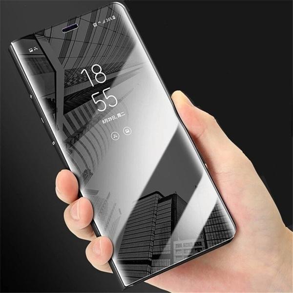 low priced 2f2b9 04f7e BBizx Clear Smart View Leather Cover Flip Case For Xiaomi Redmi Note 5 Pro  4 4X 5A Pro Support phone case Redmi 5 Plus Mi Note 3 MI 5X A1 6X Mix 2 ...