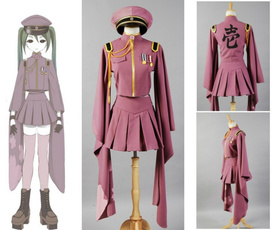 Cosplay, Vocaloid, Army, Japanese Anime
