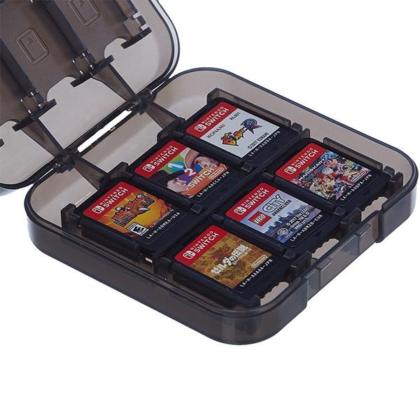 gamecardstoragebox, plasticgamecardbox, Video Games, gamecartridge