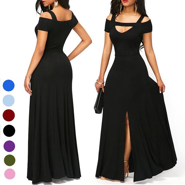 Necks, Party Dresses, prom dress, V-neck