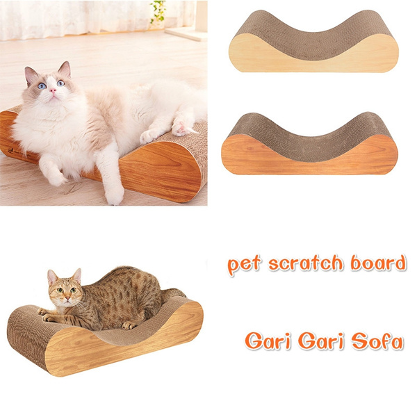 Pleasant Pet Corrugated Paper Scratching Board Interactive Toy For Pet Cat Training Chaise Lounge Orthopedic Sofa Pet Bed Cat Bed Andrewgaddart Wooden Chair Designs For Living Room Andrewgaddartcom