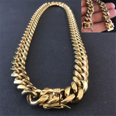 Steel, goldplated, hip hop jewelry, Jewelry