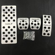 pedalpadformazda3, brakeclutchpedalcover, manualpedalpad, caraccessoriesformazda3mazda3m3hatchback
