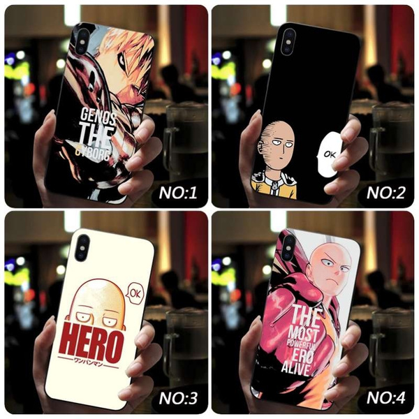 One Punch Man Design 3 iphone case