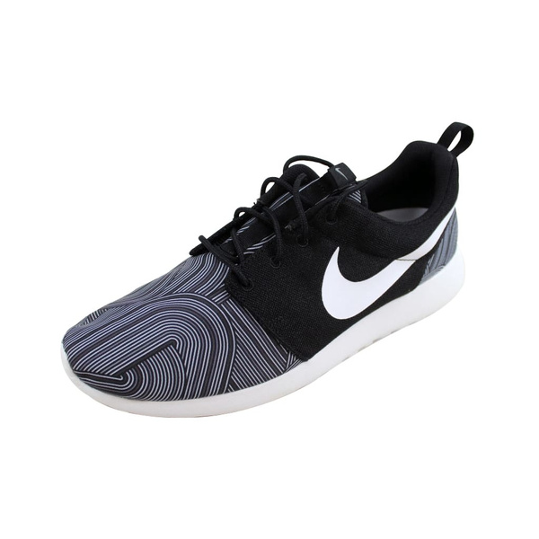 separation shoes 134f2 6c61e Nike Men's Roshe One Print Black/White-Shark-Wolf Grey 655206-011