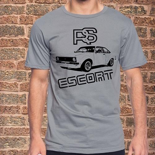 Green MK1 Escort Long Sleeve T Shirt Green MK1 Escort T Shirt Baseball Long Sleeve Top with Raglan sleeves Mens Top