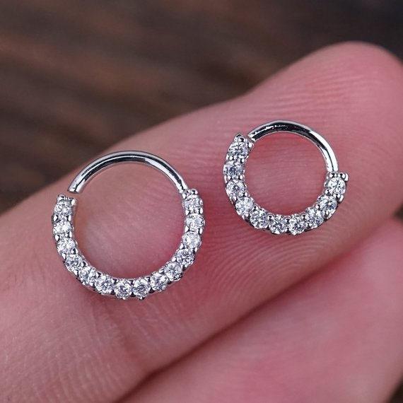 1pcs Daith Piercing Hoop Daith Hoop Earring Small Hoop Earrings