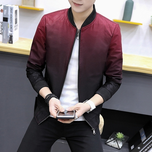 Fashion, Winter, slim, baseball jacket