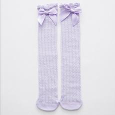 socksamptight, bowknot, Cotton, Lace